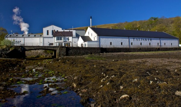 View of Distillery