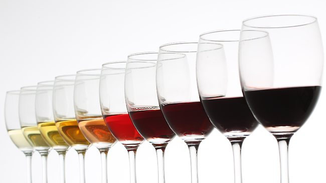 flight of iso glasses with tasting samples in