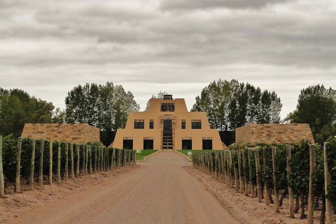 catena pyramid shaped winery