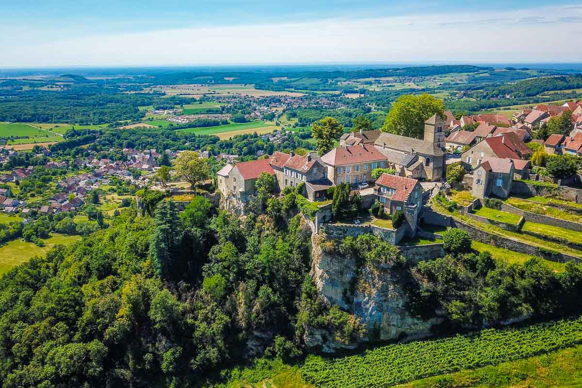 wine village and vista